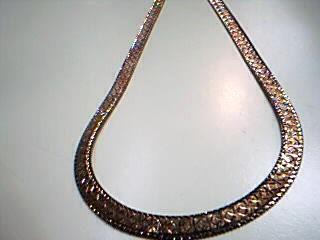 "18"" Silver Herringbone Chain 925 Silver 24.9g"