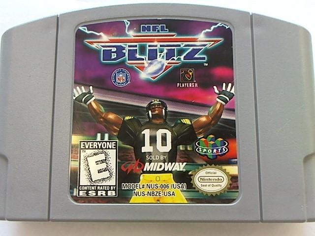 NINTENDO N64 - NFL BLITZ