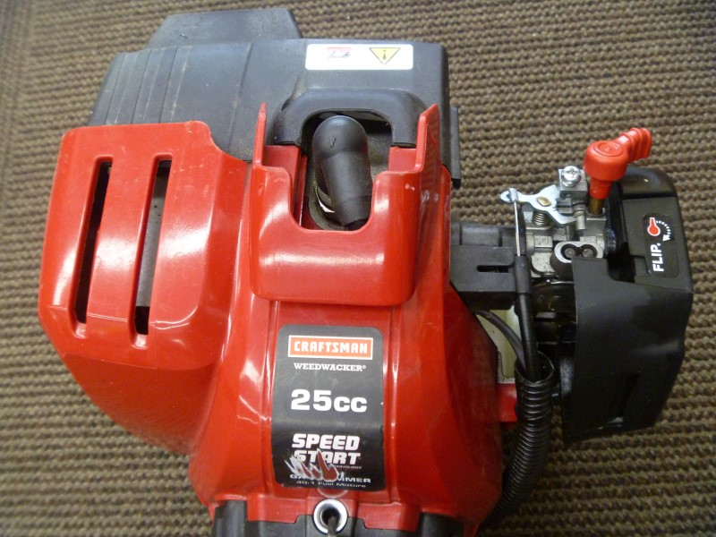 CRAFTSMAN 316.791191 SPEED START 25CC 2-CYCLE GAS STRAIGHT SHAFT TRIMMER