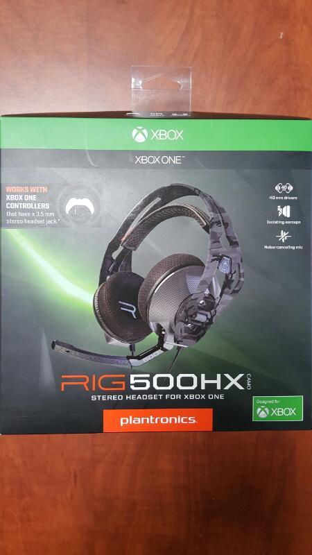 PLANTRONICS Video Game Accessory RIG 500HX
