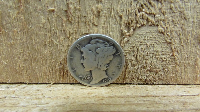 UNITED STATES Silver Coin 1923 MERCURY DIME