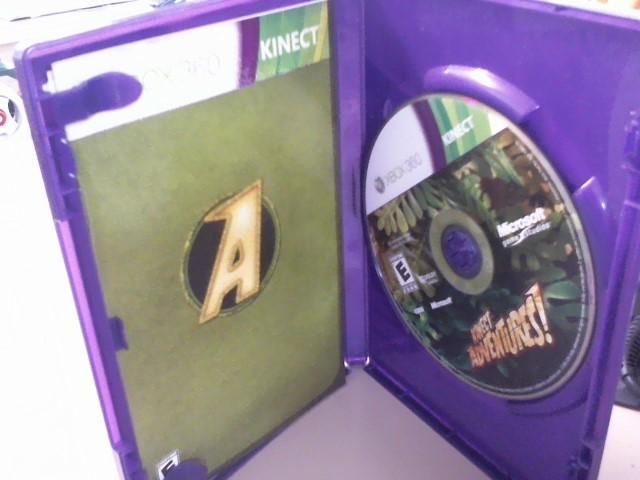 KINECT ADVENTURES-XBOX 360