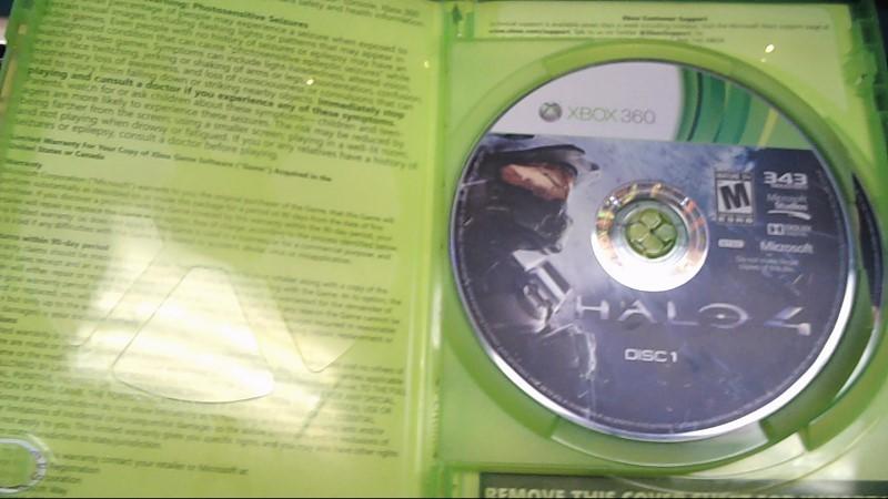 MICROSOFT Microsoft XBOX 360 Game HALO 4 - XBOX 360