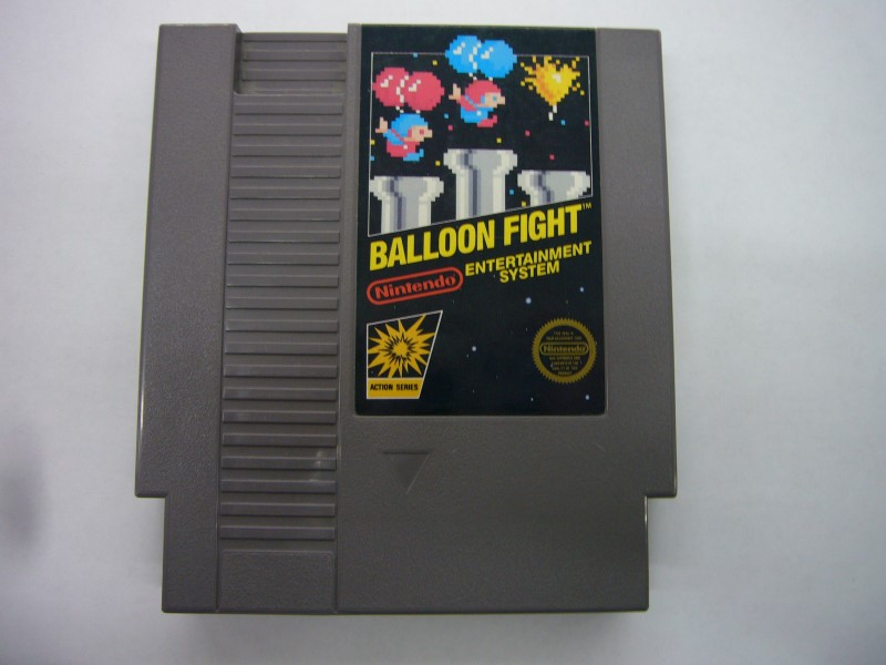 NINTENDO NES Game BALLOON FIGHT *CARTRIDGE ONLY*
