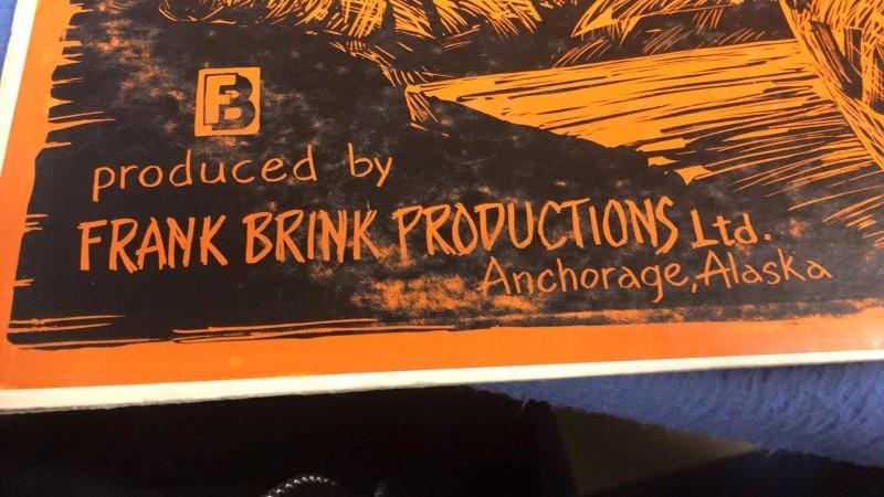 CHILKOOT CHARLIE LP FRANK BRINK PRODUCTION ANCHORAGE ALASKA