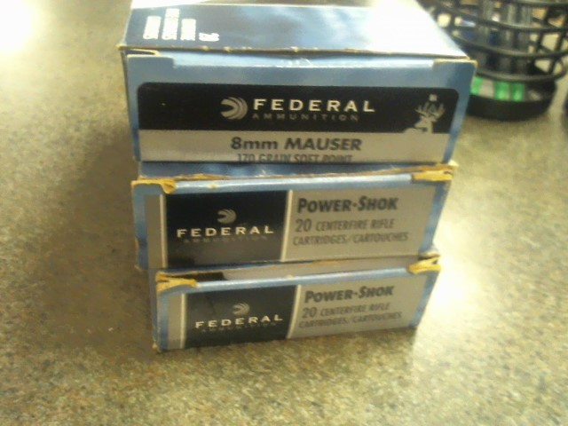 FEDERAL AMMUNITION Ammunition 8MM 170 GR