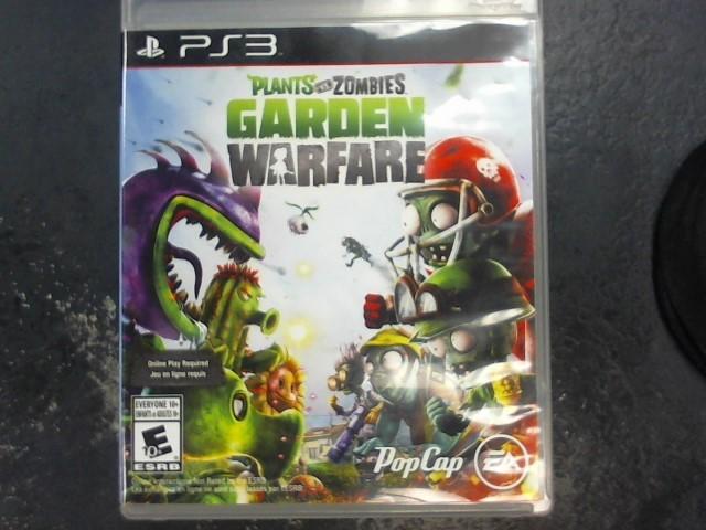 SONY Sony PlayStation 3 Game PLANTS VS ZOMBIES GARDEN WARFARE PS3