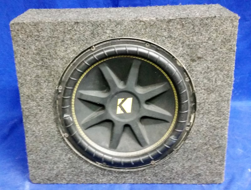 "KICKER CAR SPEAKER 10"" SUBWOOFER"