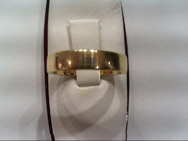 Lady's Gold Wedding Band 14K Yellow Gold 3.7g Size:5.8