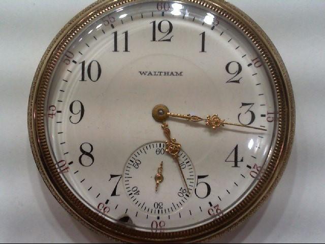 WALTHAM P.S. BARTLETT, 17 JEWEL, 1907 POCKET WATCH SER#16024135