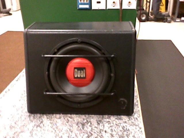 DUAL ELECTRONICS Car Amplifier ABL10