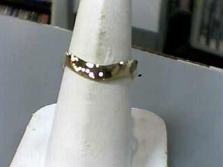 Lady's Gold THUMB Ring 10K Yellow Gold 1.1dwt