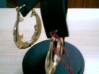 Gold Earrings 10K Yellow Gold 3.3g