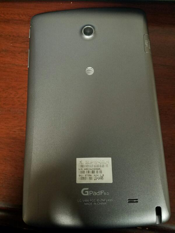USED-LG Tablet V495 8.0
