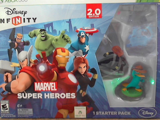 DISNEY INFINITY ACCESSORIES x-box 360