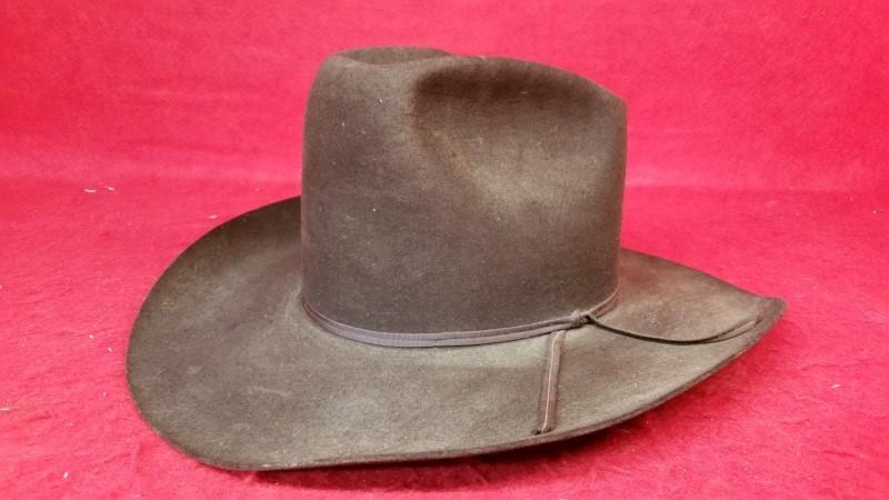 Resistol XXX Beaver Brown Western Cowboy Hat
