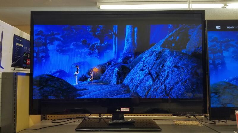 "LG 55"" LED TV 1080P 120HZ 55LS4500 W/ REMOTE"