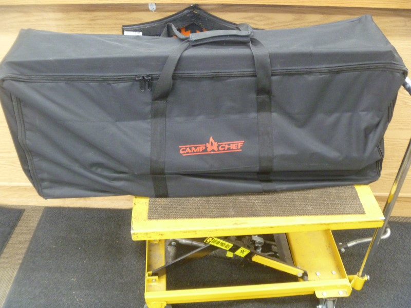 CAMP CHEF DENALI PRO 3X THREE BURNER STOVE WITH CARRYING CASE