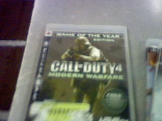SONY Sony PlayStation 3 Game PS3 CALL OF DUTY 4 MODERN WARFARE