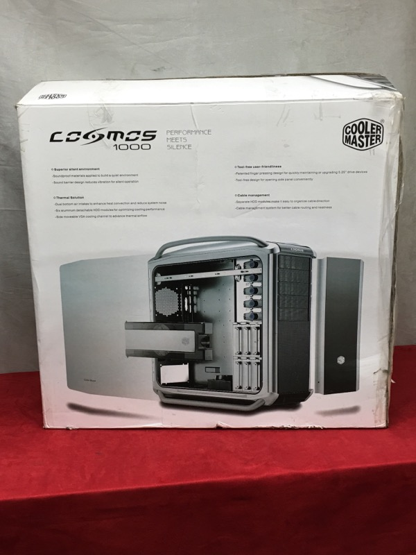 Cooler Master Cosmos 1000 Full Tower Case Silver