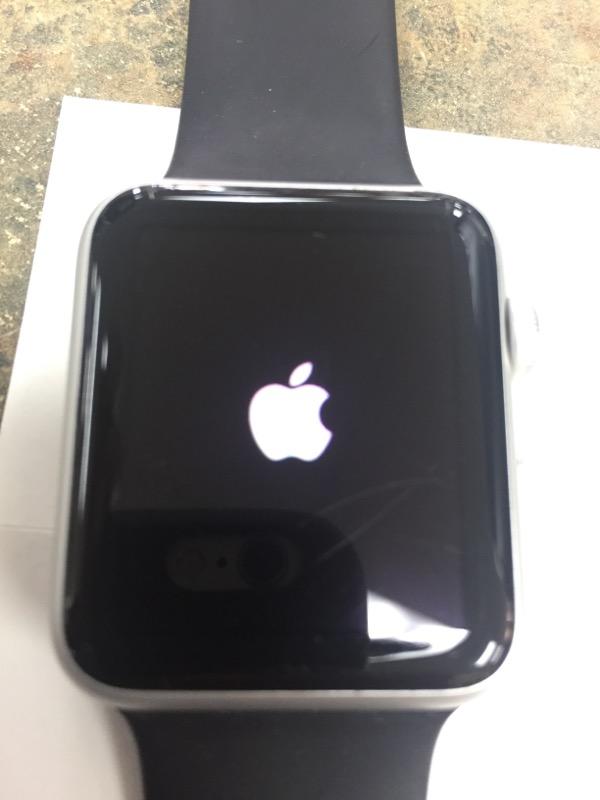 APPLE Gent's Wristwatch MJ3N2LL/A WATCH SPORT 42MM WHITE