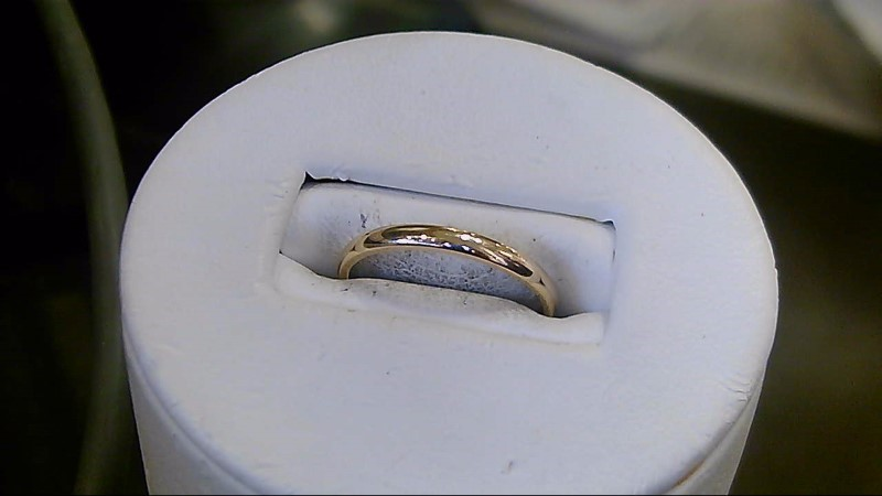 Lady's Gold Wedding Band 14K Yellow Gold 1.6g