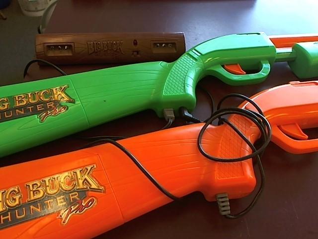 JAKKS PACIFIC BIG BUCK HUNTER PRO (2 GUNS AND SENSOR)