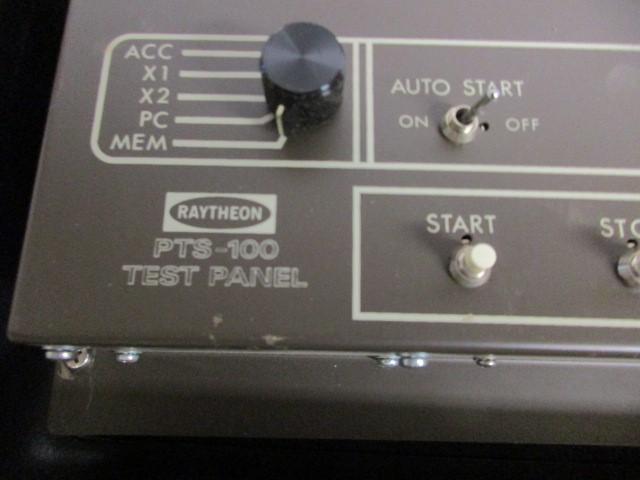 RAYTHEON PTS-100 TEST PANEL