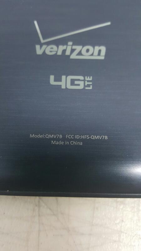 "Verizon Ellipsis 7, 8gb (7"", QMV7B, Black, Verizon)"
