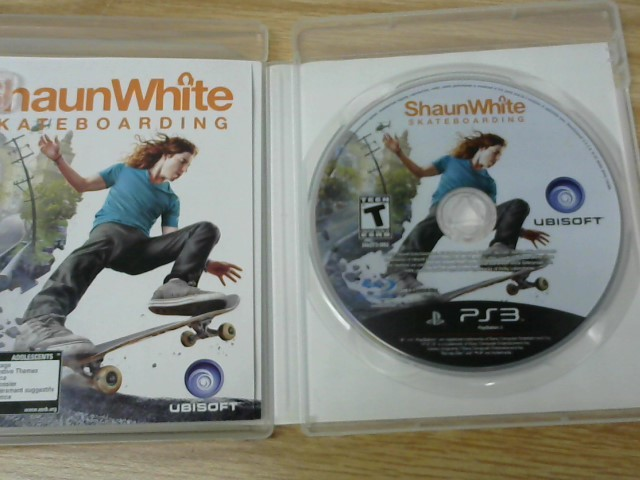 SONY Sony PlayStation 3 Game SHAUN WHITE SKATEBOARDING