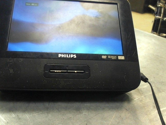 PHILIPS Portable DVD Player PD7016/37