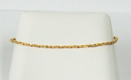 Gold Fashion Bracelet 14K Yellow Gold 1.02dwt
