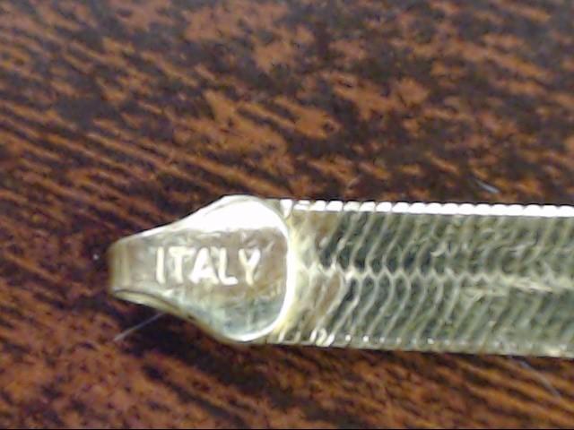 """ESTATE HERRINGBONE BRACELET SOLID REAL 10K GOLD ITALY NO KINKS 8.25"""""""