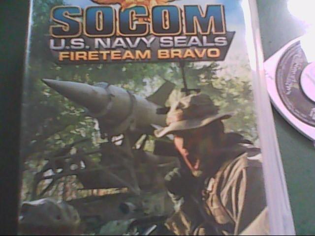 USED, SONY PSP GAME SOCOM US NAVY SEALS FIRETEAM BRAVO