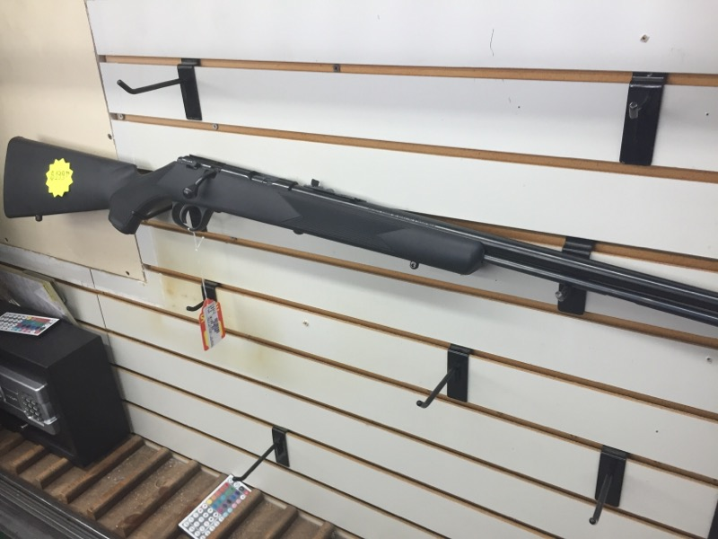 THE_MARLIN 981T_MICRO_GROOVE_BARREL RIFLE-BOLT  .22 LR NO CASE BLUE