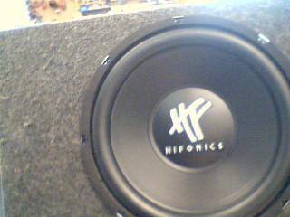 """HIFONICS Car Speakers/Speaker System 12"""" SUB"""