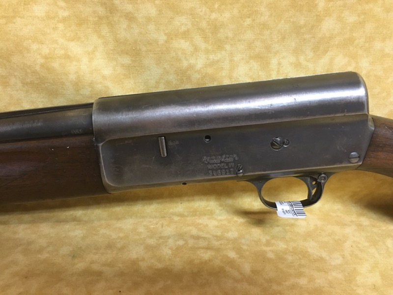 "Remington Model 11 Semi-Auto 12ga 26"" Shotgun"