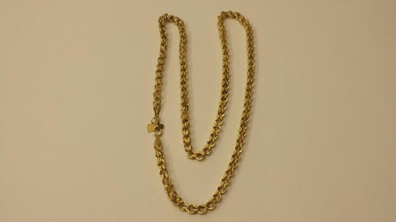 "14k Yellow Gold Chain - 5dwt - 20"""