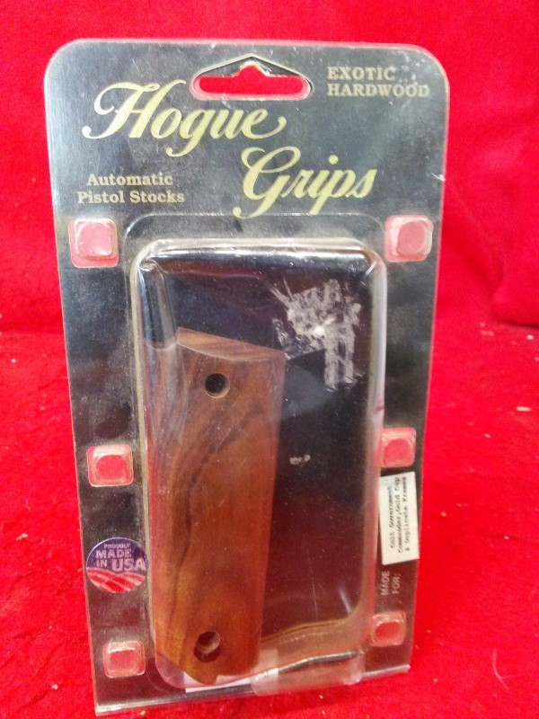 HOGUE GRIPS 1911 GRIPS - Exotic Hardwood