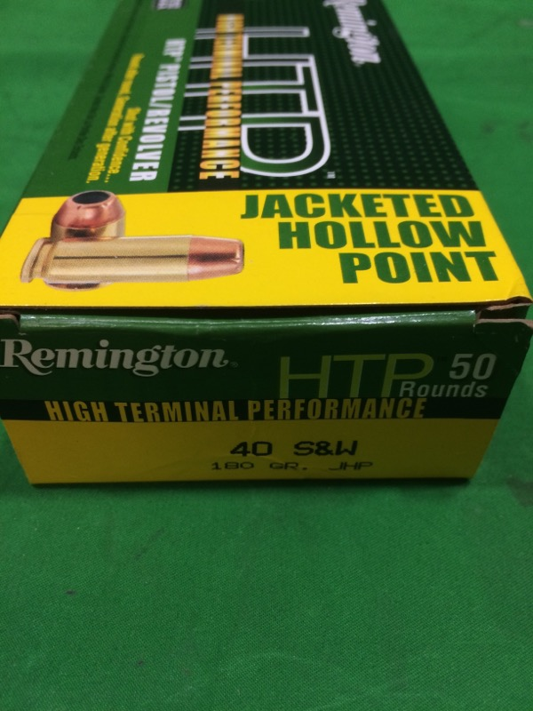 REMINGTON FIREARMS & AMMUNITION Ammunition HTP 40 S&W