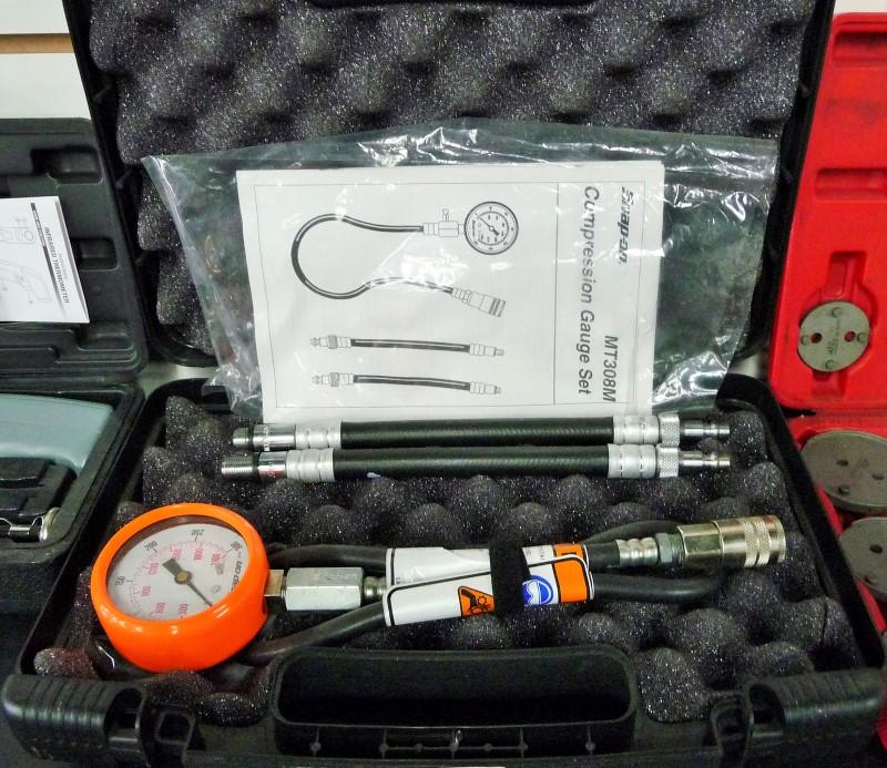 SNAP ON Air Tool Parts/Accessory MT308M DIAGNOSTIC GAUGE SET