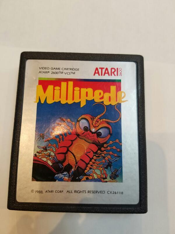 ATARI Vintage Game MILLIPEDE