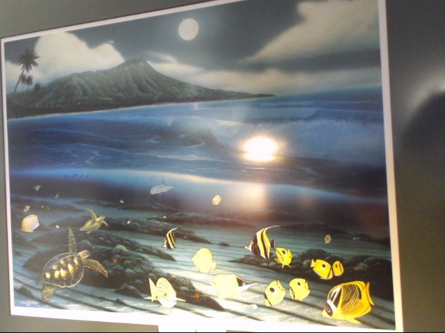 ROBERT WYLAND Print DIAMOND HEAD MOON LIMITED EDITION PRINT