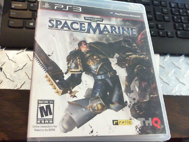 SONY PS3 SPACEMARINE