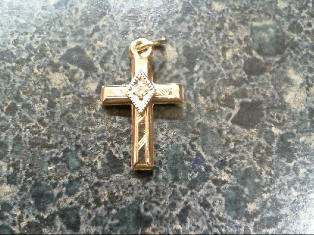 Gold Charm 14K Yellow Gold 0.3g