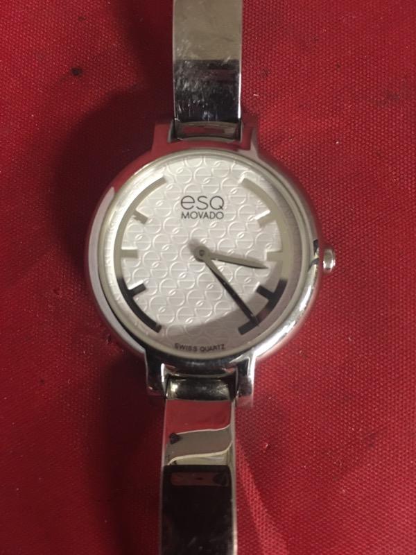 ESQ MOVADO Gent's Wristwatch MOVADO