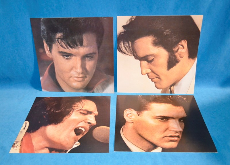 ELVIS AARON PRESLEY 25TH ANNIVERSARY LIMITED EDITION 8 TRACK TAPE LP SET