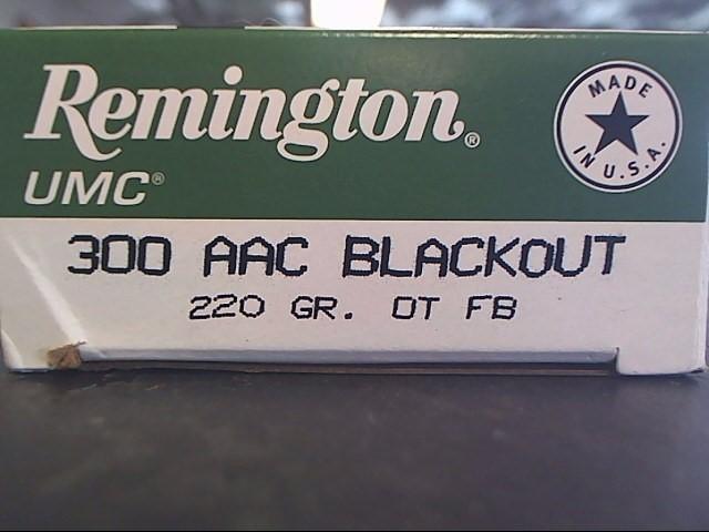 REMINGTON FIREARMS & AMMUNITION Ammunition L300AAC4
