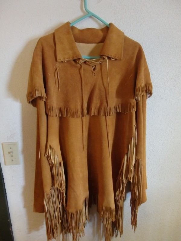 BUCKSKIN SHIRT XL