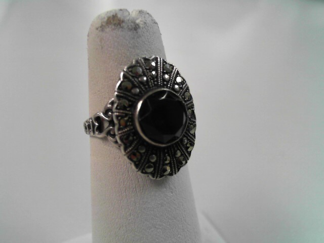 Lady's Silver Ring 925 Silver 3.6g Size:6.4